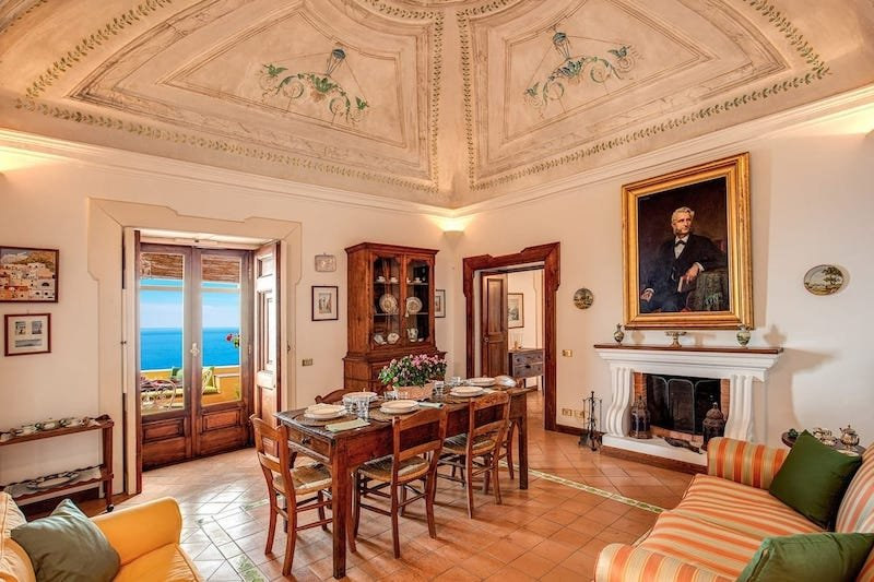 Luxurious Historic Villa in Positano