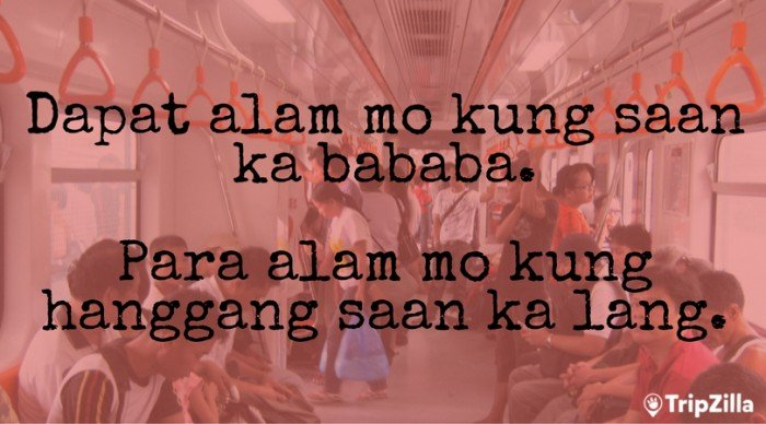 hugot lines commuting
