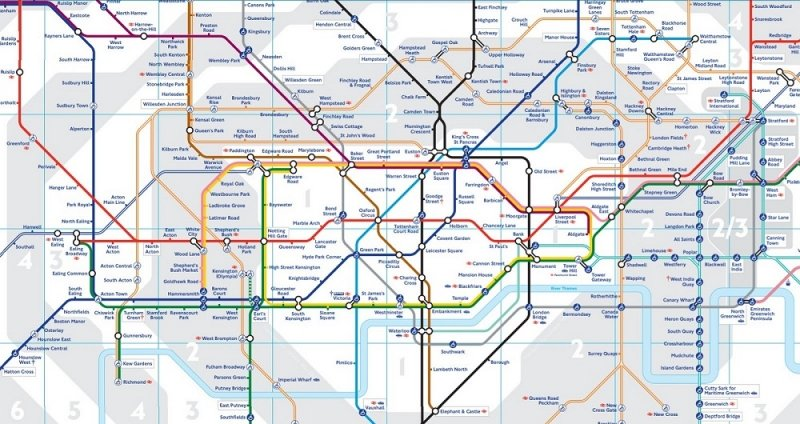 London Travel Card Zones 1 6 Map.London Budget Guide How To Save Money On Transport