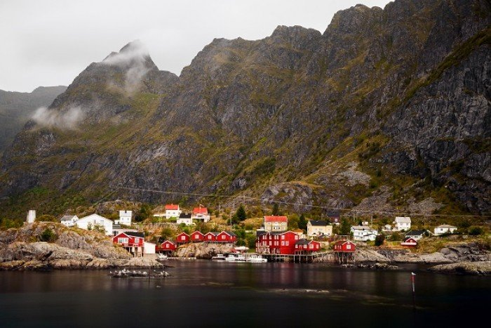 fishing villages in Lofoten Islands