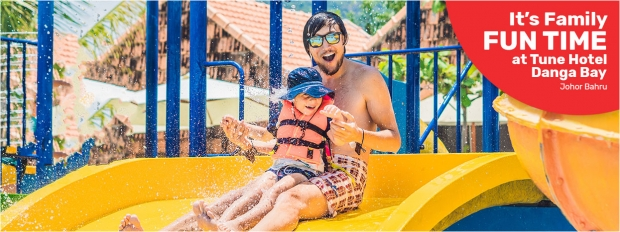 Family Filled Fun with Stay Packages at Tune Hotel Danga Bay