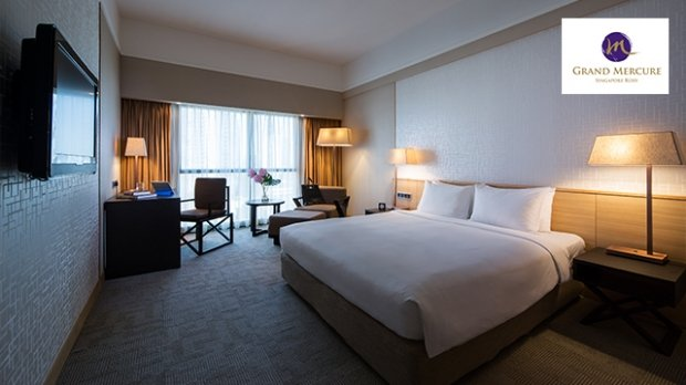 10% OFF Best Available Rates at Grand Mercure Singapore Roxy with NTUC Card