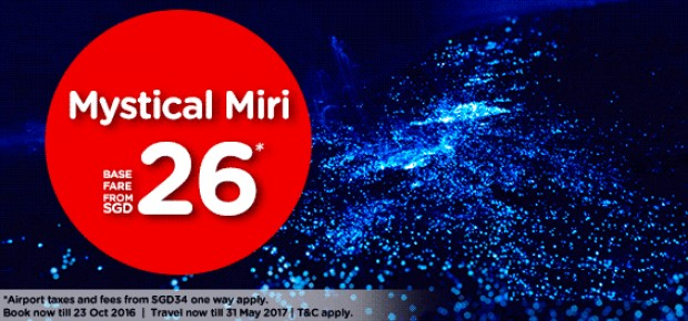 Discover Mystical Miri and Beyond from SGD 26 with AirAsia