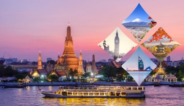 Travel the World Promo in Thai Airways with Airfares from SGD248