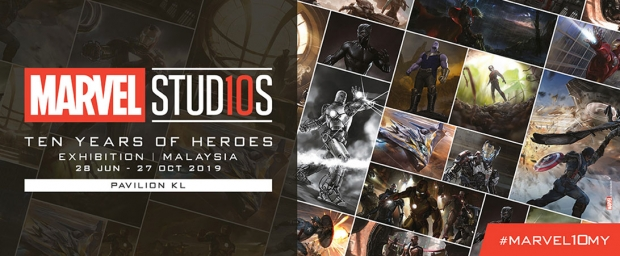 Enjoy up to 15% off Admission Tickets for Marvel Studios Exhibition in Malaysia with Maybank