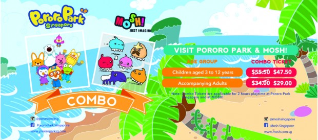 Moshi Combo from SGD47.50 at Pororo Park Singapore