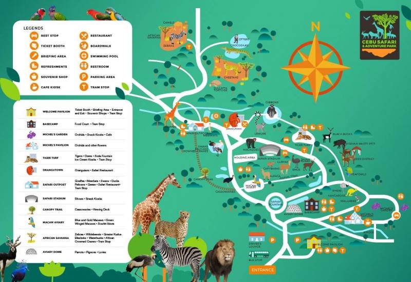 Cebu Safari and Adventure Park Guide & Tips for Visitors