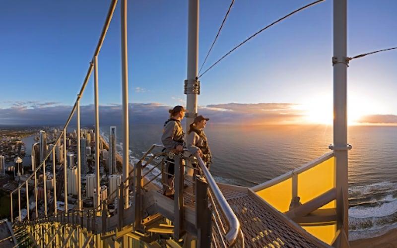 skypoint climb in gold coast