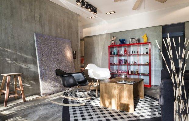 Designer loft in Bangkok