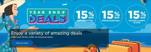 Year End Deals at Malaysia Airlines with Flights Up to 35% Off 1