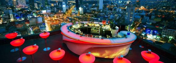 Chill Skybar, Ho Chi Minh, Vietnam