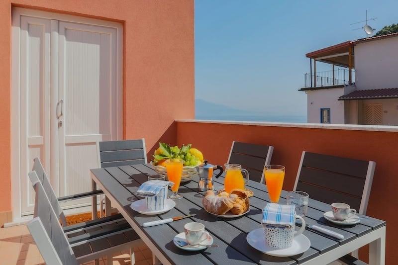 Seaside apartment in Sorrento