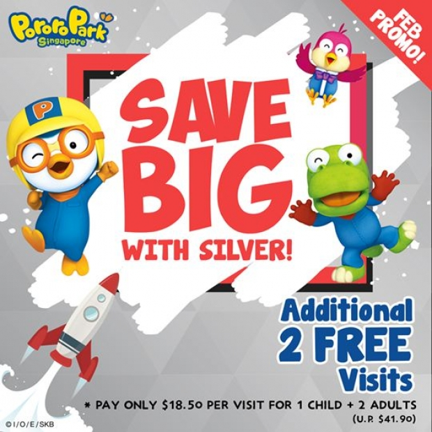 Silver Just Got Better in Pororo Park Singapore