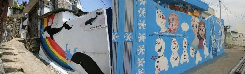 Dongpirang Murals