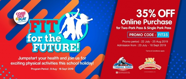 35% Off Online Purchase of Tickets to Puteri Harbour Attractions