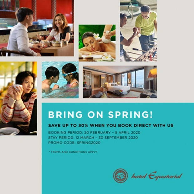 Bring on Spring at Hotel Equatorial Kuala Lumpur