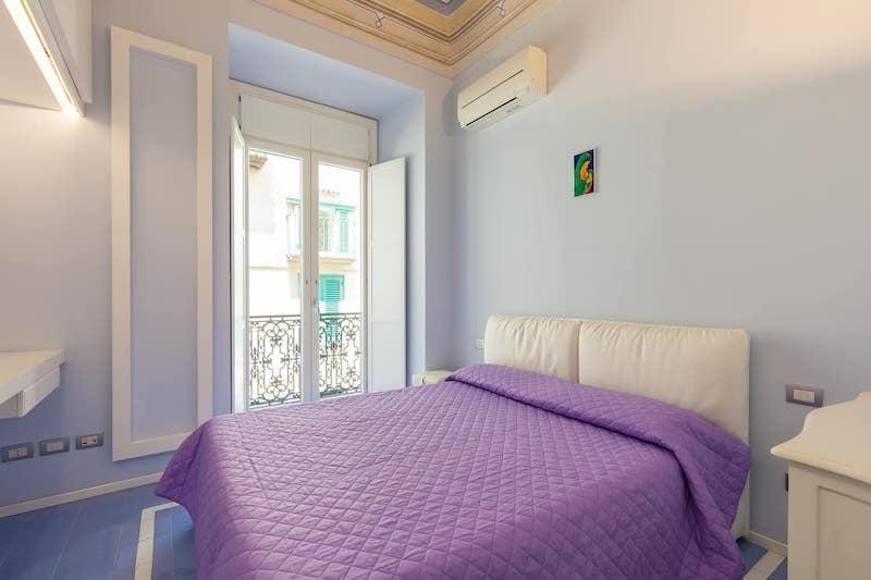 Bedroom in Amalfi Apartment