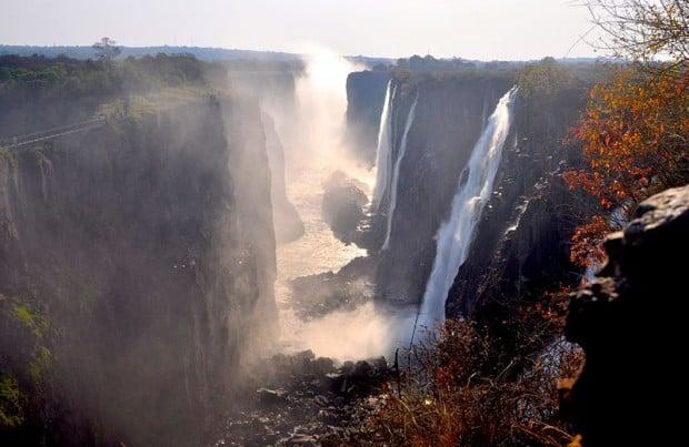 thác nước đẹp nhất thế giới - Thác Victoria