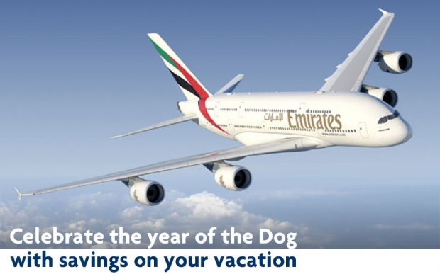Enjoy Up to 10% off Airfares on Emirates to over 150 destinations with UOB Cards