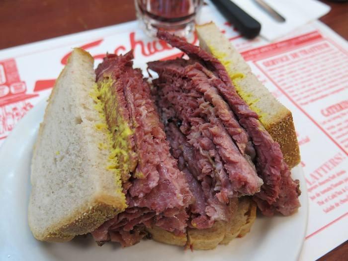 Schwartz sandwich