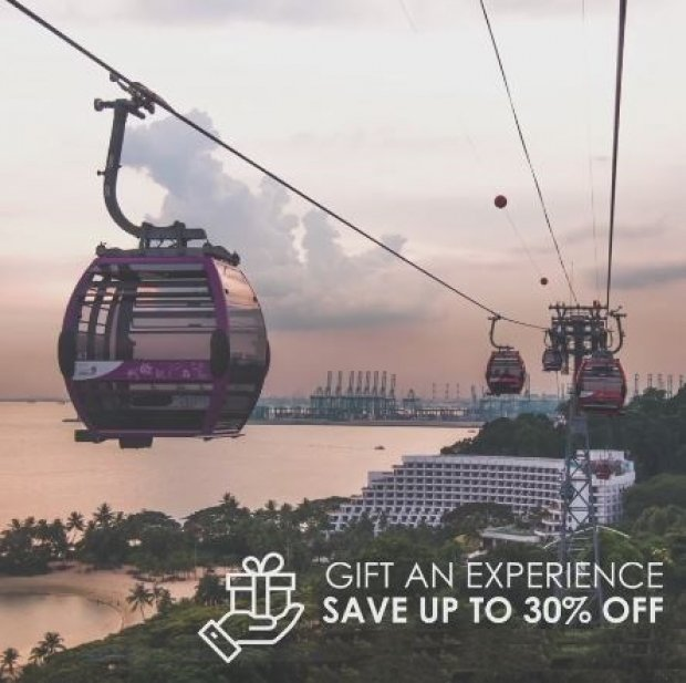 Gift An Experience Bundle with Up to 30% Savings to Singapore Cable Car