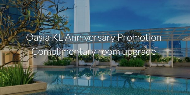 Oasia Suites Kuala Lumpur, Malaysia's 3rd Anniversary Promo with Far East Hospitality