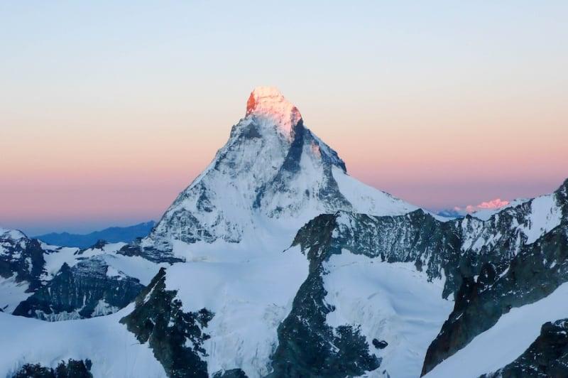 swiss alps: matterhorn