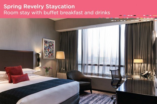 Spring Revelry Staycation from SGD208 in Carlton Singapore