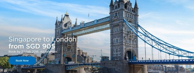 Discover Japan and London from SGD314 with Malaysia Airlines 2
