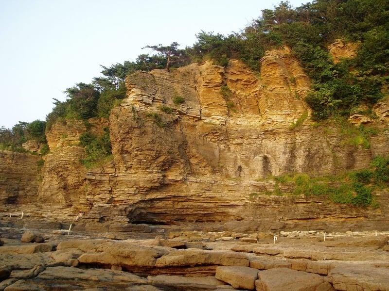Byeonsanbando National Park - Chaesokgang Cliffs