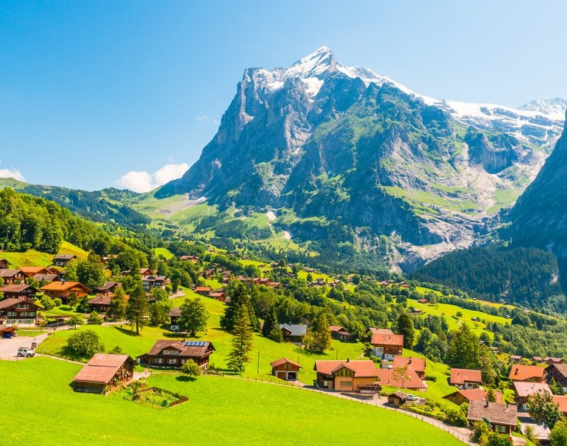 swiss alps and grindelwald