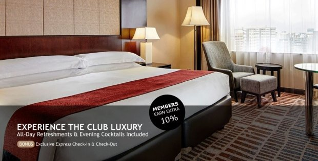 Meritus Club Package in Mandarin Orchard with 20% Savings