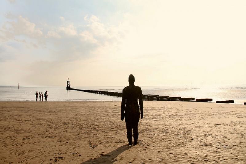 Beach Holidays – Crosby Beach, England