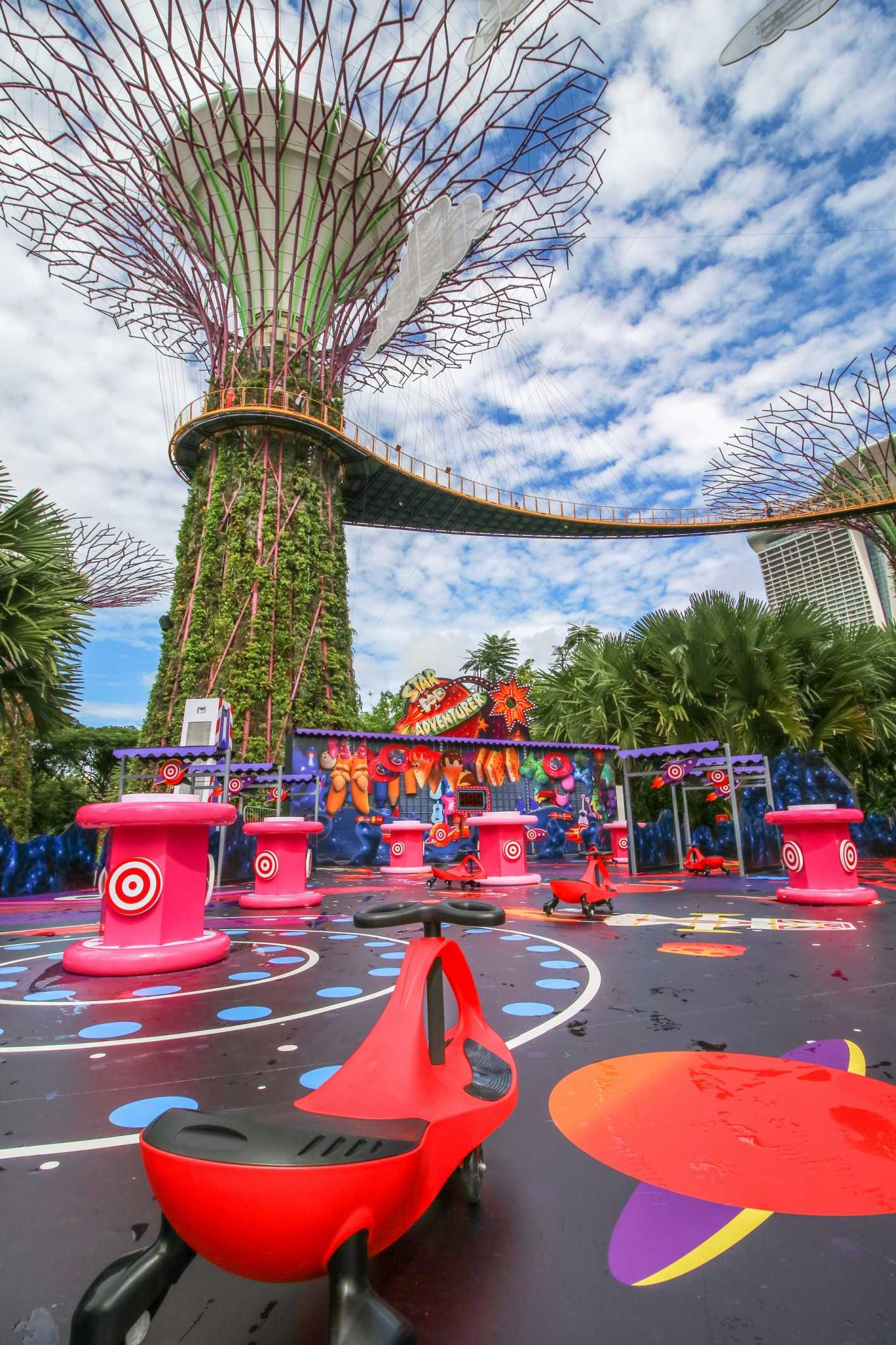 children's festival at garden's by the bay