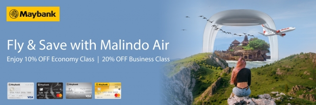 Fly and Save with Malindo Air and Maybank