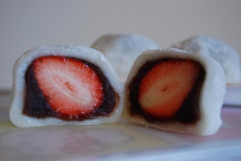 japanese snacks daifuku mochi