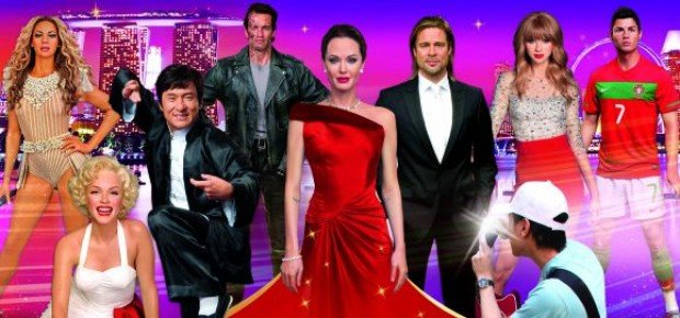 20% off Madame Tussauds Singapore Full Experience Tickets with Standard Chartered
