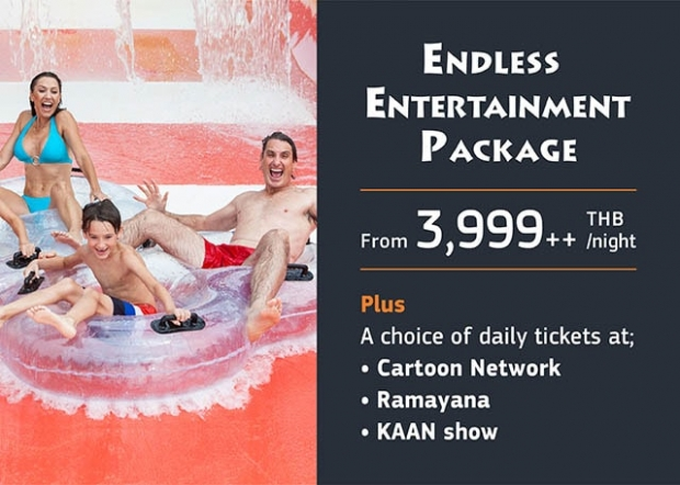 Endless Entertainment Package on your Stay at Centara Grand Phratamnak Pattaya
