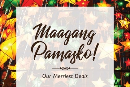 Maagang Pamasko! (Our Merriest Deals)