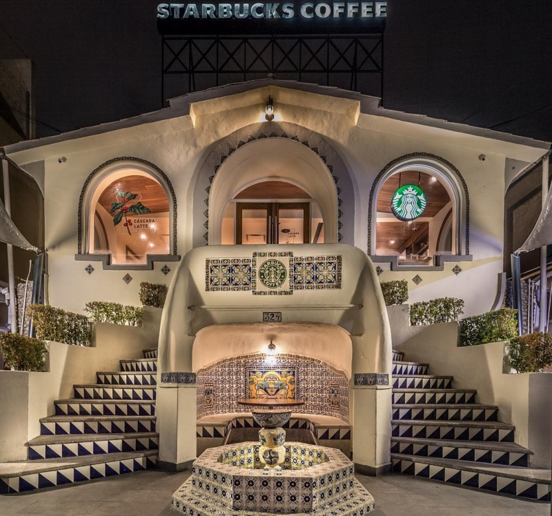 starbucks branch in mexico