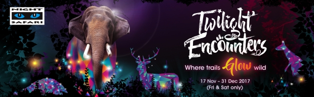 Uncover the Secret Message in Night Safari Trail and WIN Admission Tickets