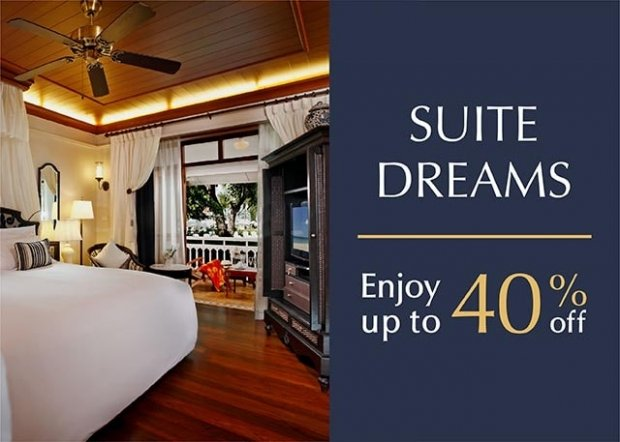 Up to 40% Savings for your Next Holiday at Centara Grand Beach Resort & Villas Hua Hin