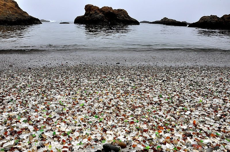 Beach Holidays – Glass Beach, California, USA