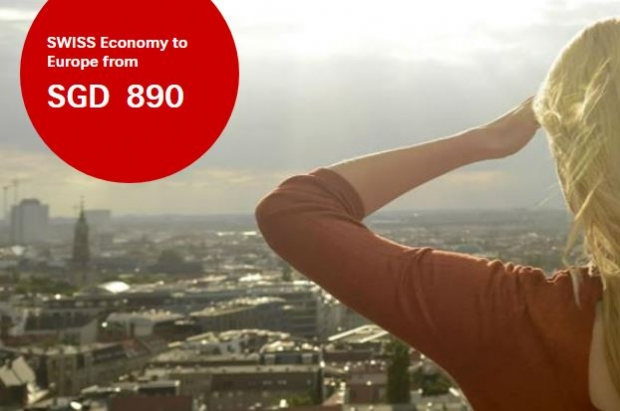 Swiss Economy Sale to Europe from SGD890