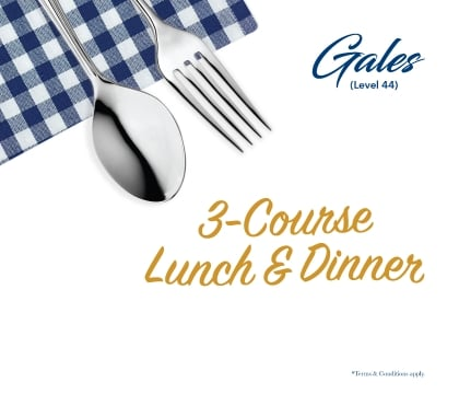 3- Course Lunch & Dinner