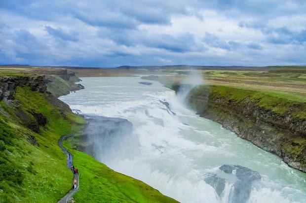 Thác Gullfoss - thác nước đẹp nhất thế giới
