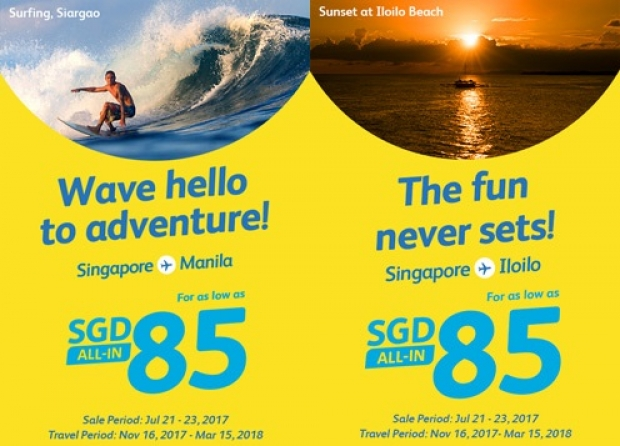 Fly to Philippines with Cebu Pacific and Visa from SGD85 2