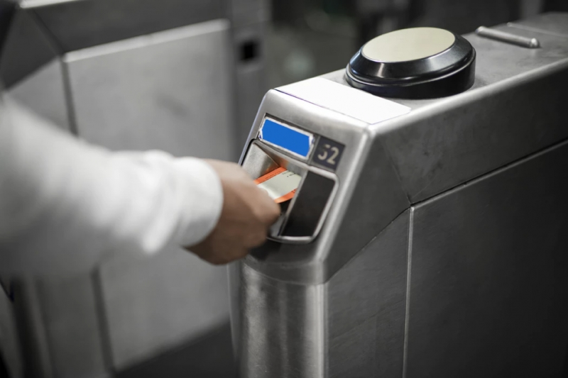 Ticket authorisation machine
