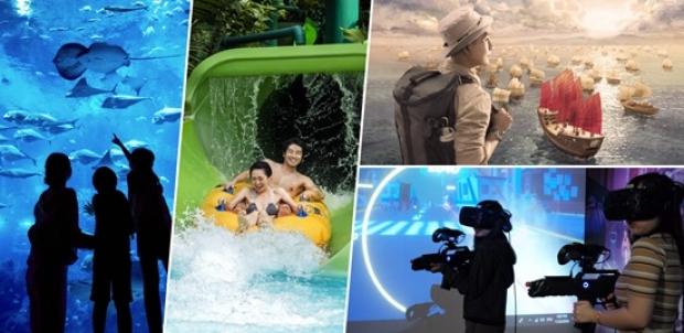HeadRock VR One-Day Ticket Bundle at Resorts World Sentosa
