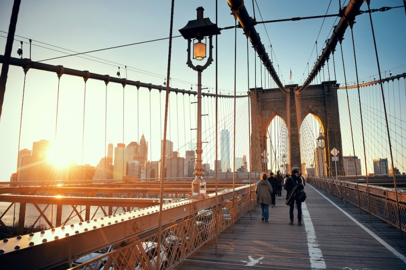 famous bridges in the world: brooklyn